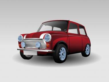 Red Mini Car