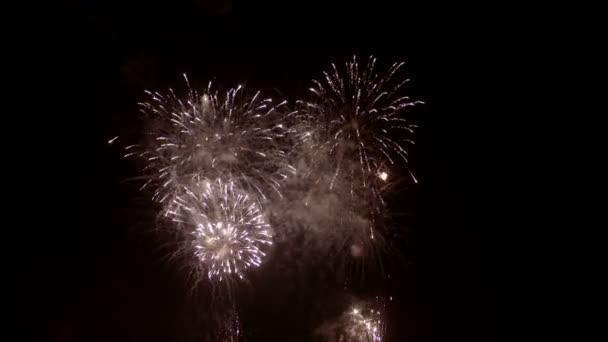 Tűzijáték ellen fekete égen