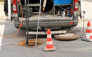 Sewer rehabilitation, inspektion