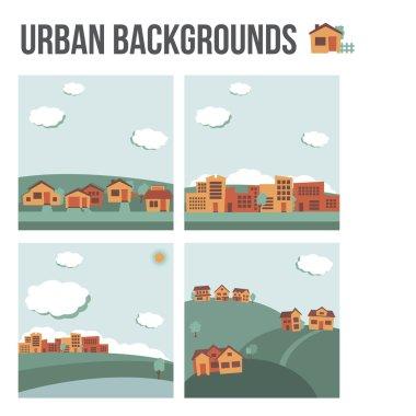 Urban background set
