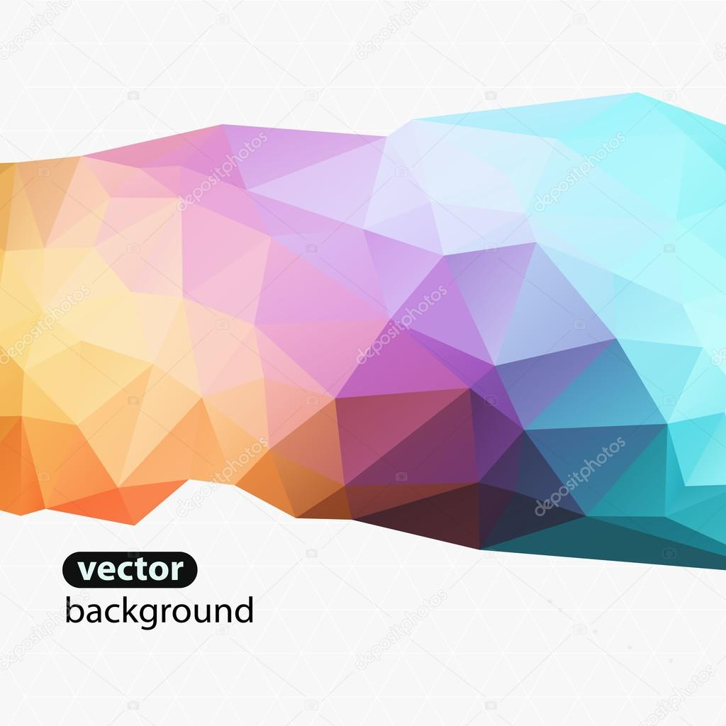 Modern Design Abstract Background Triangle U2014 Stock Vector