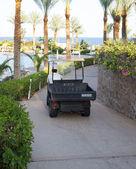Pracovní auto v Egyptě hotel