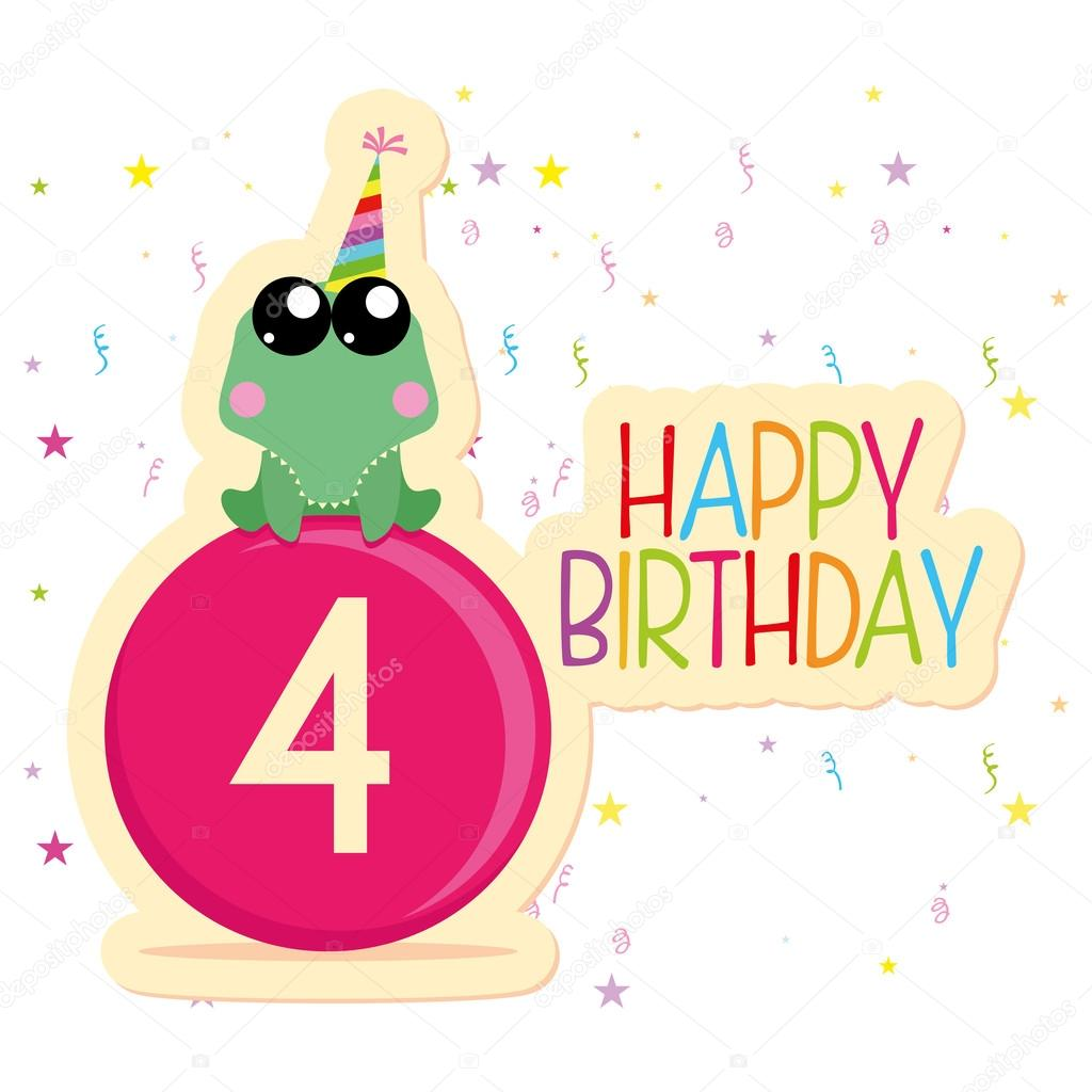 Cute Happy Birthday Card Template Editable Vector – Happy Birthday Cards Templates