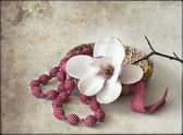 květy magnólie