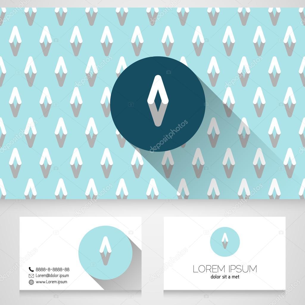 Lment De Design Dicne Avec Le Modle Carte Visite Sans
