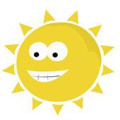legrační slunce ilustrace