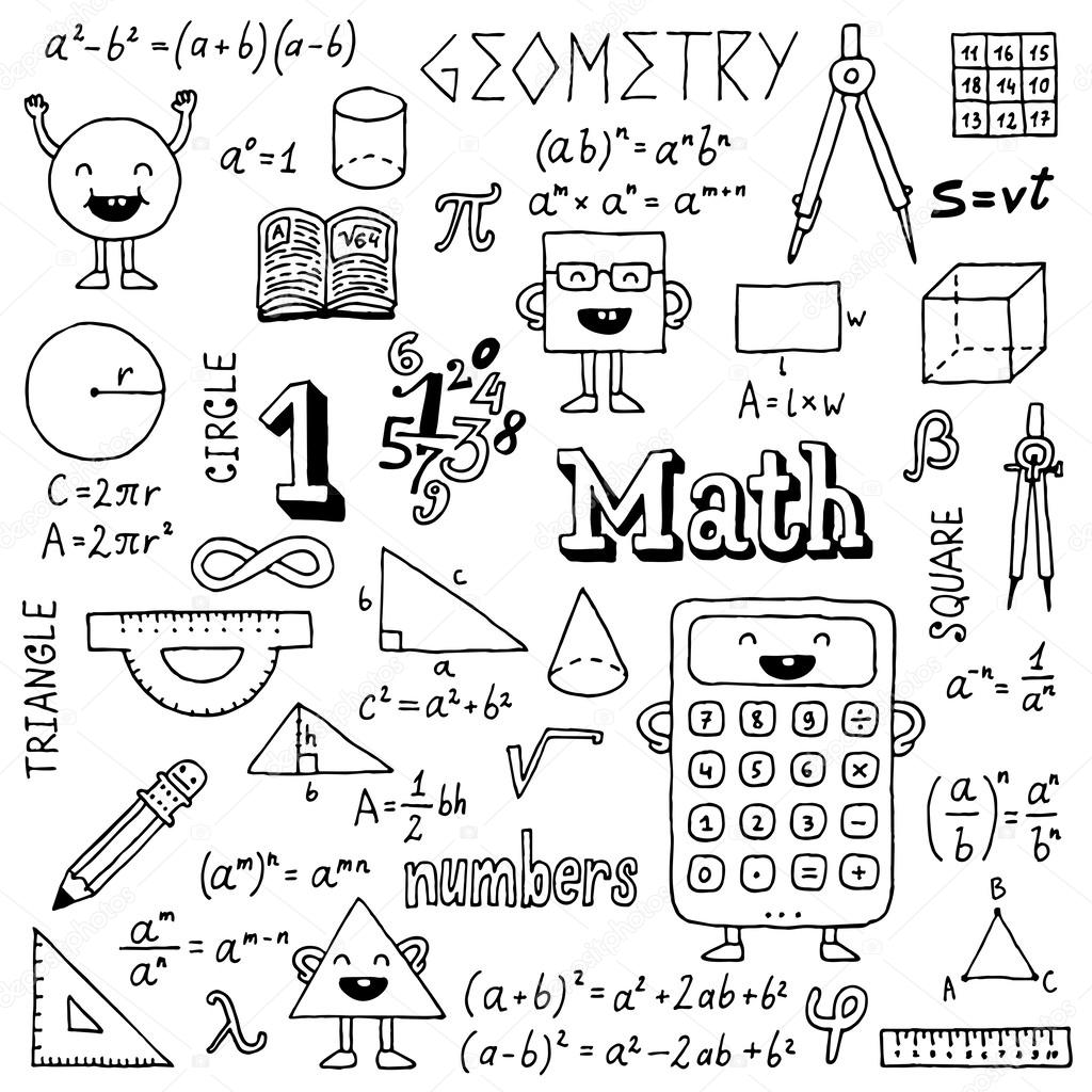 Math Vector Symbol Set - Download Free Vector Art, Stock Graphics ...