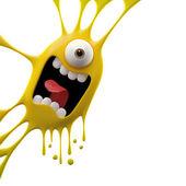 Photo Yellow yelling monster