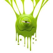 Photo Dangle green monster in love