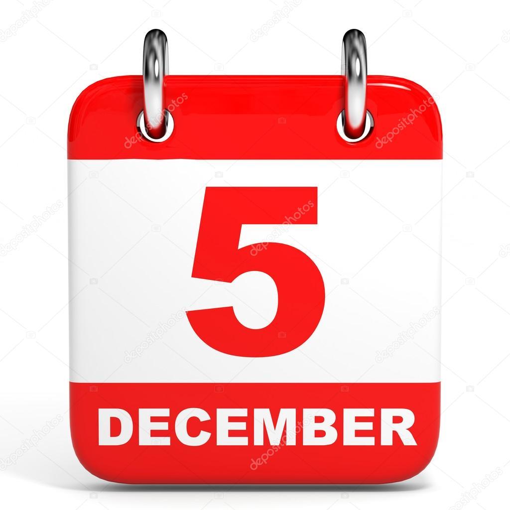 Risultati immagini per 5 dicembre calendario