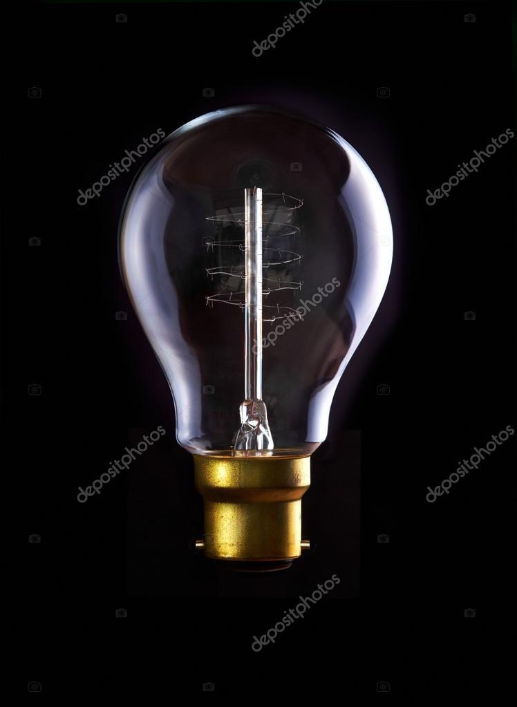 Edison Gloeilamp Stockfoto Izelphotography 51557761