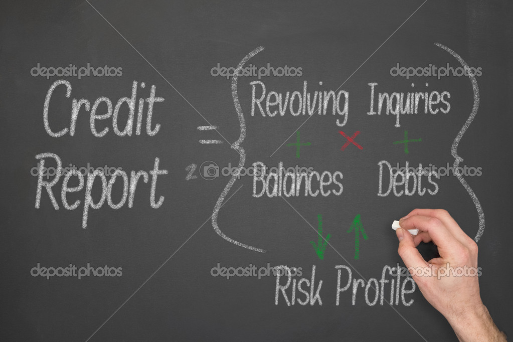 Credit report concept stock photo izelphotography 51561123 credit report concept formula on a chalkboard photo by izelphotography altavistaventures Gallery