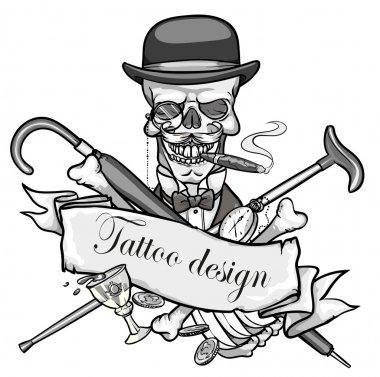 Gentleman's skeleton