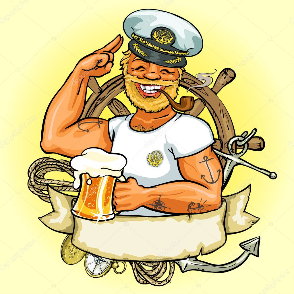 Sailor Military With Uniform And Hat Royalty Free Cliparts, Vectors, And  Stock Illustration. Image 20012464.