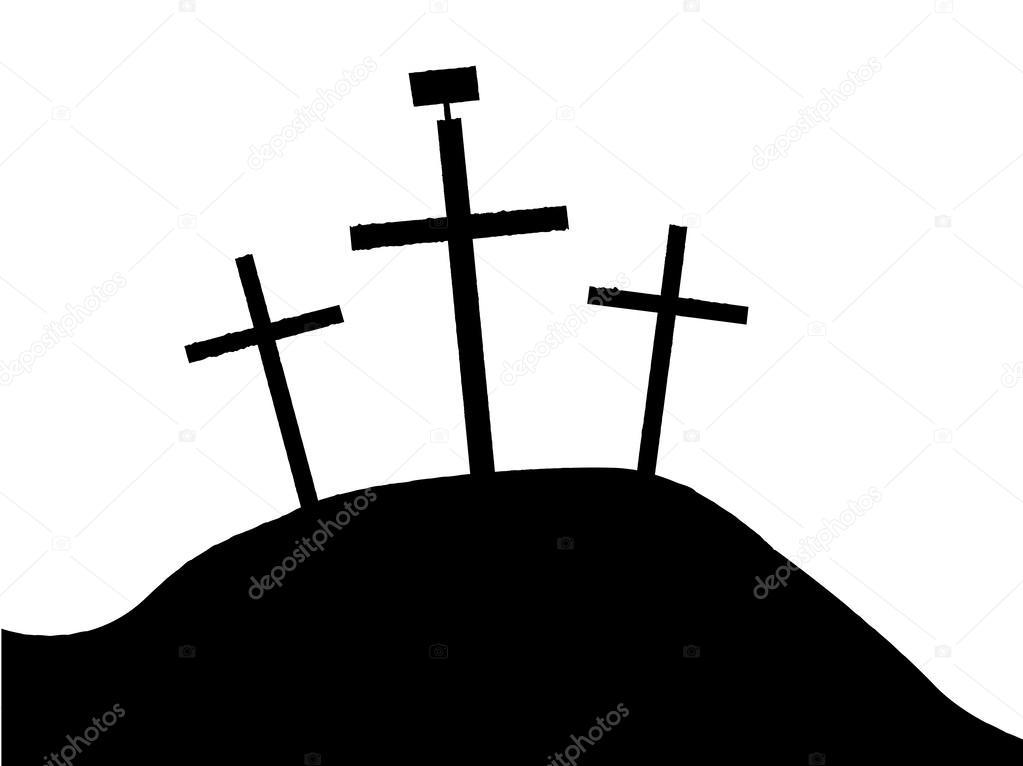 a cruz de jesus vetor de stock bigalbaloo 44477637