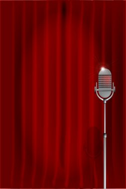 Stand Up Night Curtain.