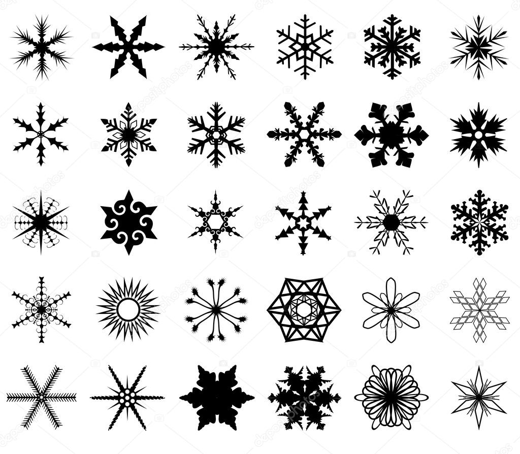 Isolated Snowflakes