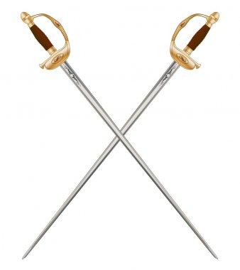 Crossed Infantry Swords
