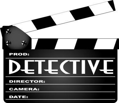 Detective Movie Clapperboard