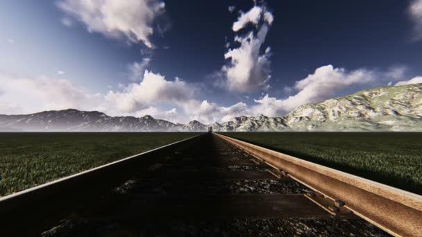 Lokomotiva při vysoké rychlosti