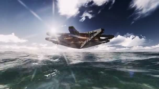 UFO na oceánu