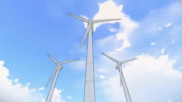 Wind power towers
