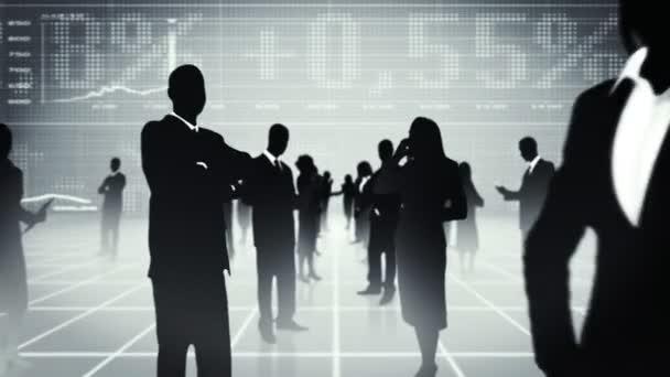 Business people, global communication.