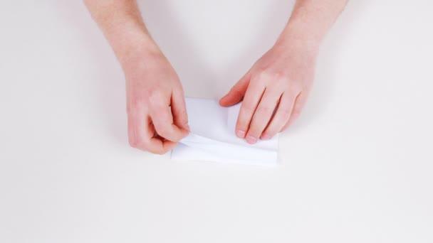 skládání papíru
