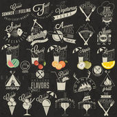 retro vintage styl restaurace menu vzory