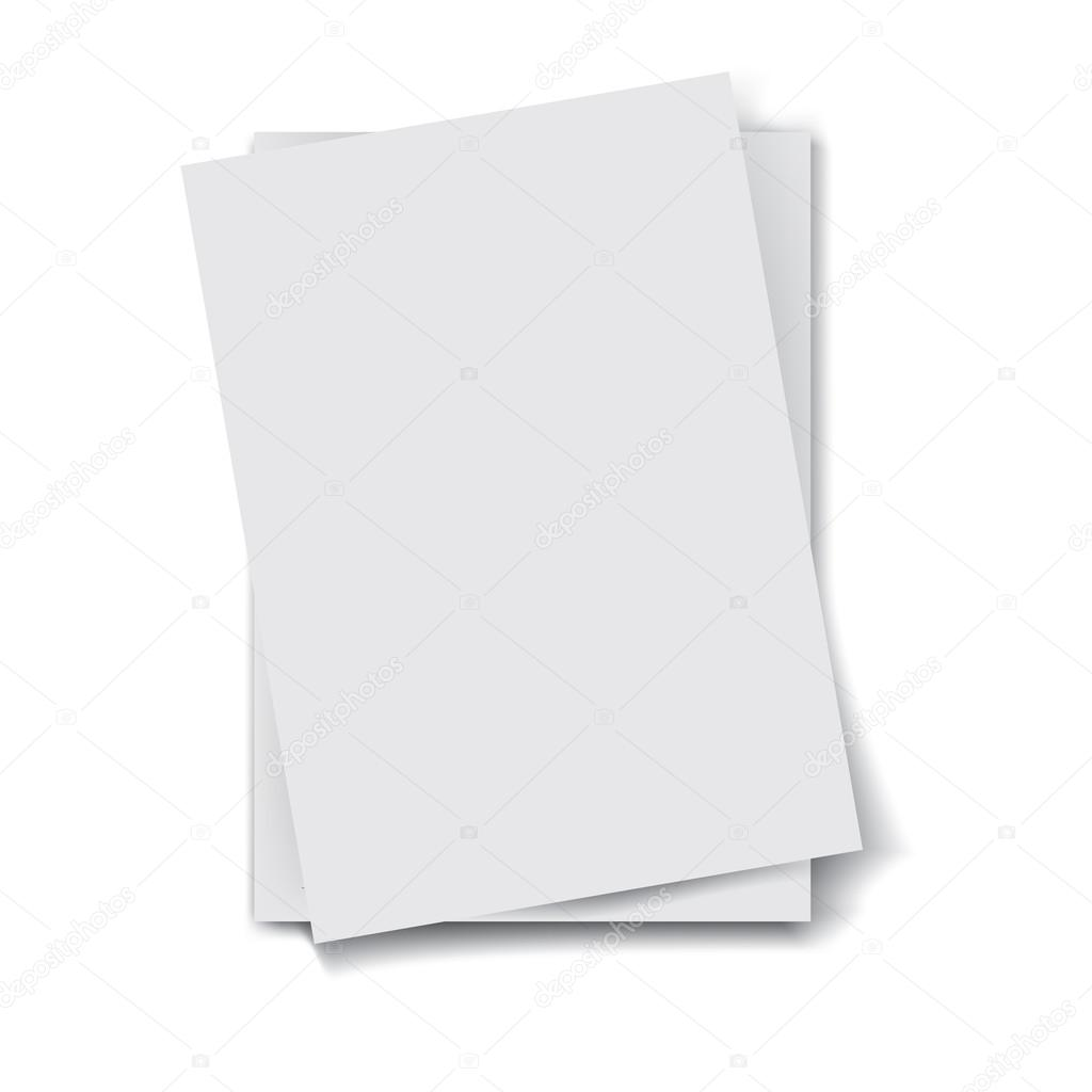 stack of papers — stock vector © route55 #49552369