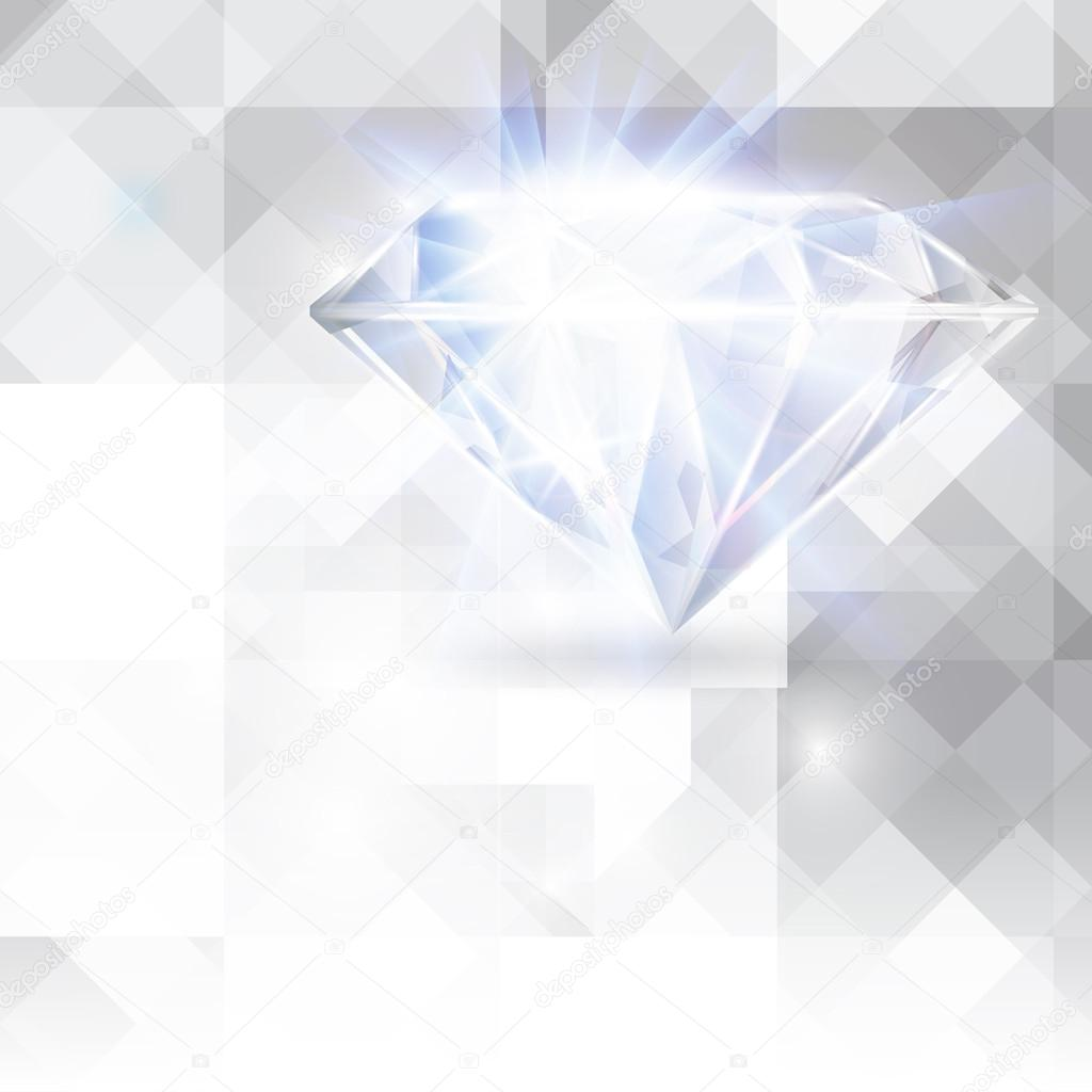 diamond vector background - photo #7