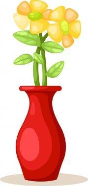 """Картина, постер, плакат, фотообои """"цветок в вазе"""", артикул 43423891"""