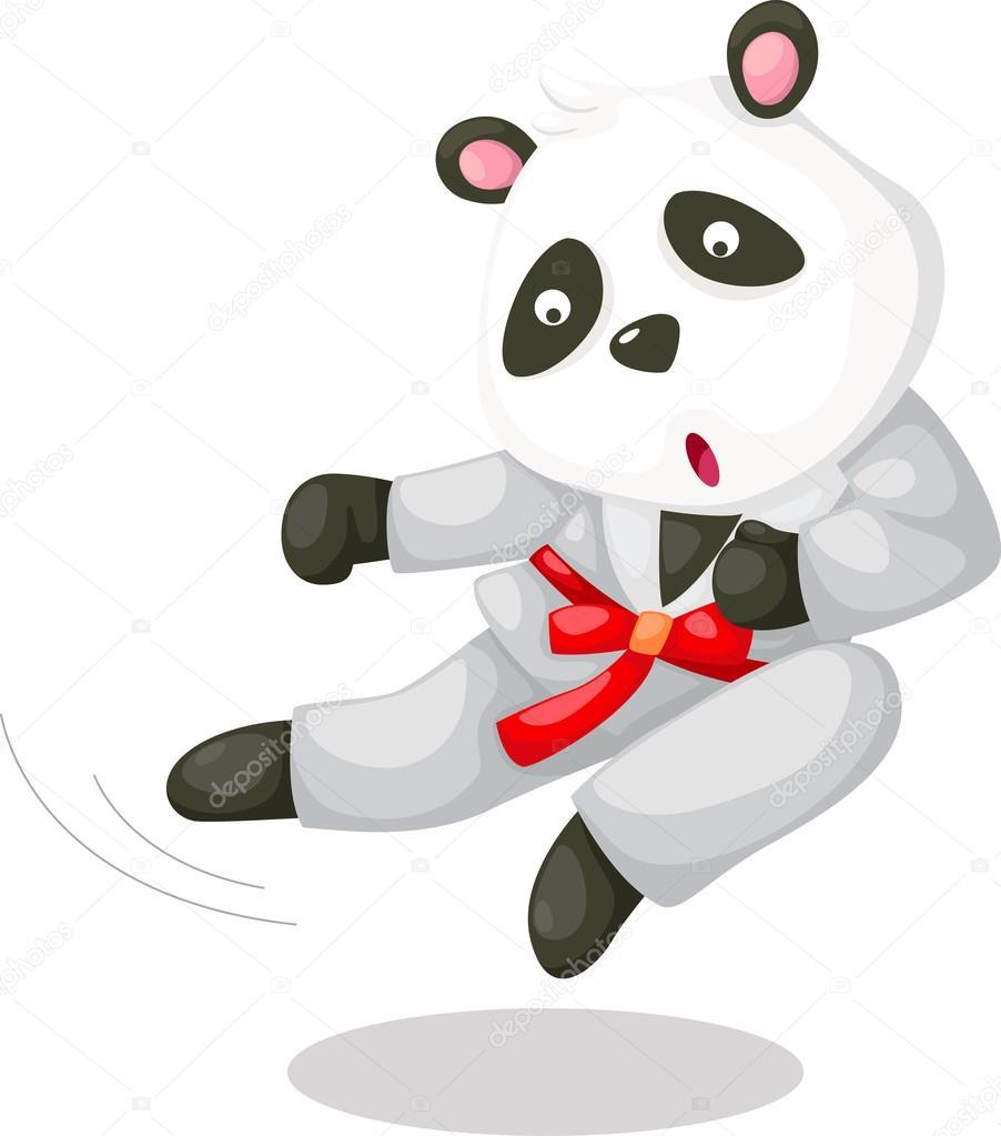 Векторное изображение панды 7