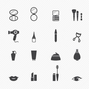 Makeup Cosmetic icons