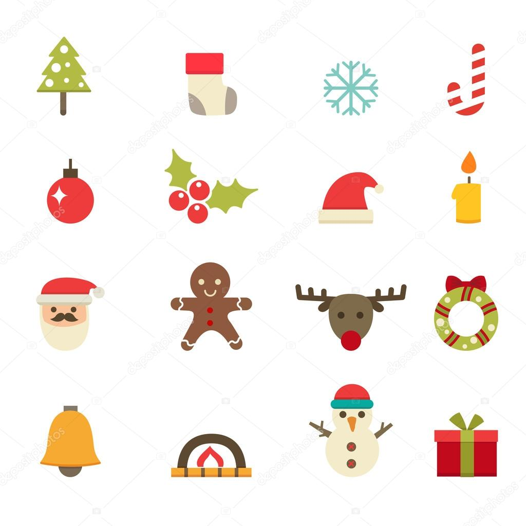 Christmas Icons vector eps10
