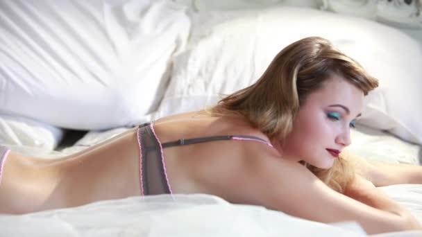 Smyslná žena probuzení