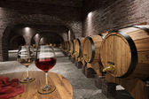Photo Ancient wine cellar