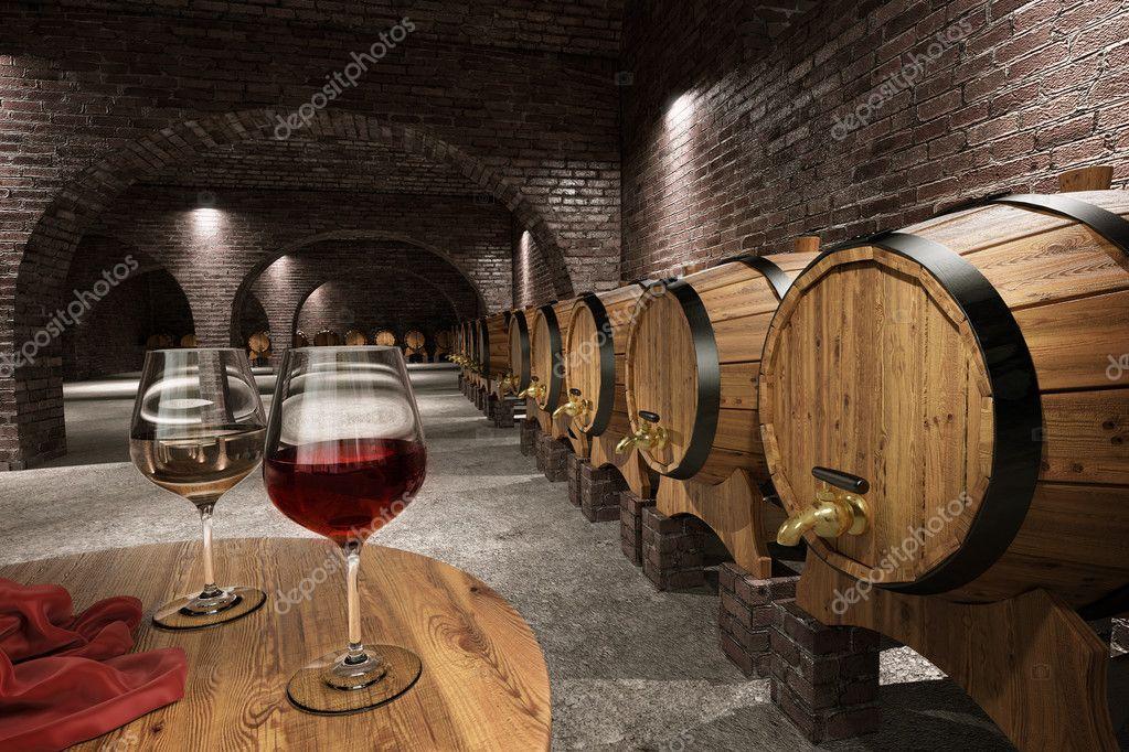 Oude wijnkelder stockfoto beawolf 43414993 - Wijnkelder ...
