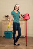Fotografie služka a domácí práce