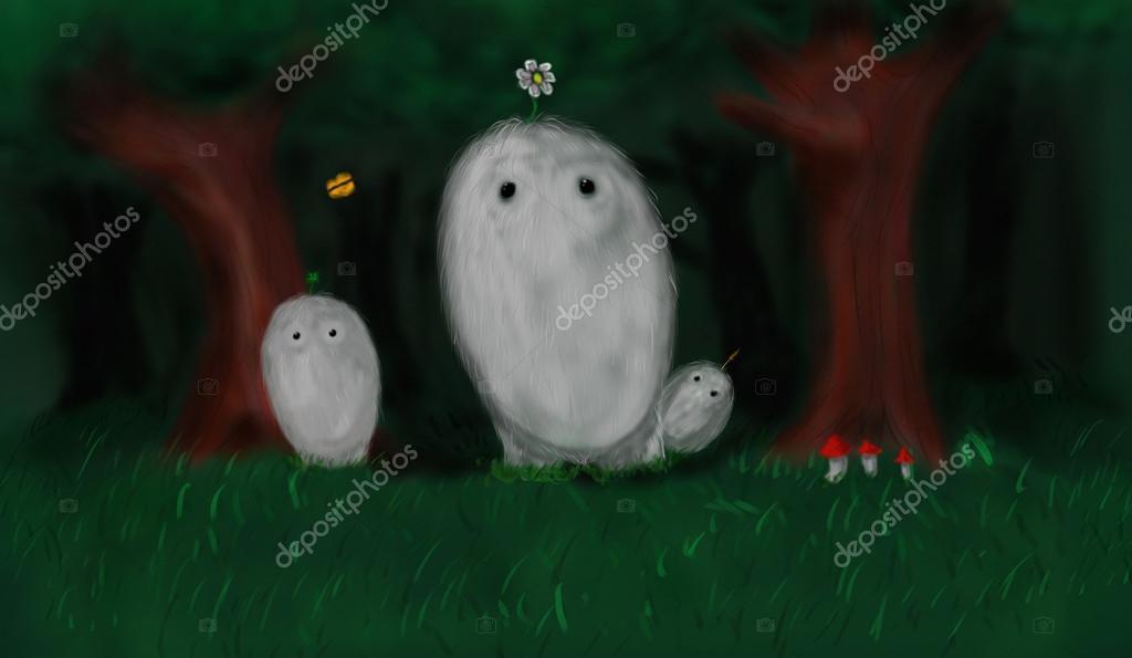 Monsters family