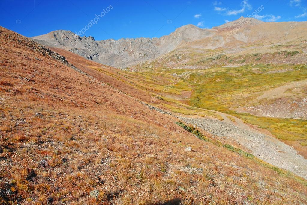 Mount Harvard and Columbia, Sawatch Range, Rocky Mountains Colorado