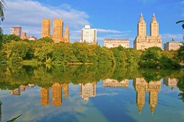 Upper West Side and City Skyline, Central Park, Manhattan New York