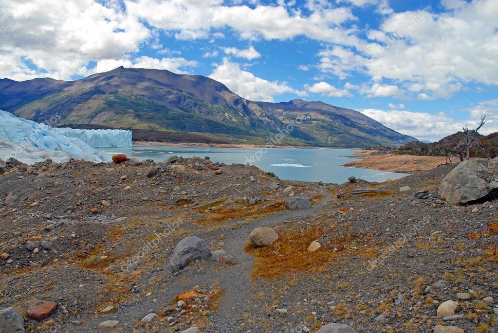 Perito Moreno Glacier and alpine landscape, Patagonia Argentina