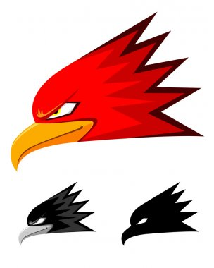 Eagle Head Vector Icon