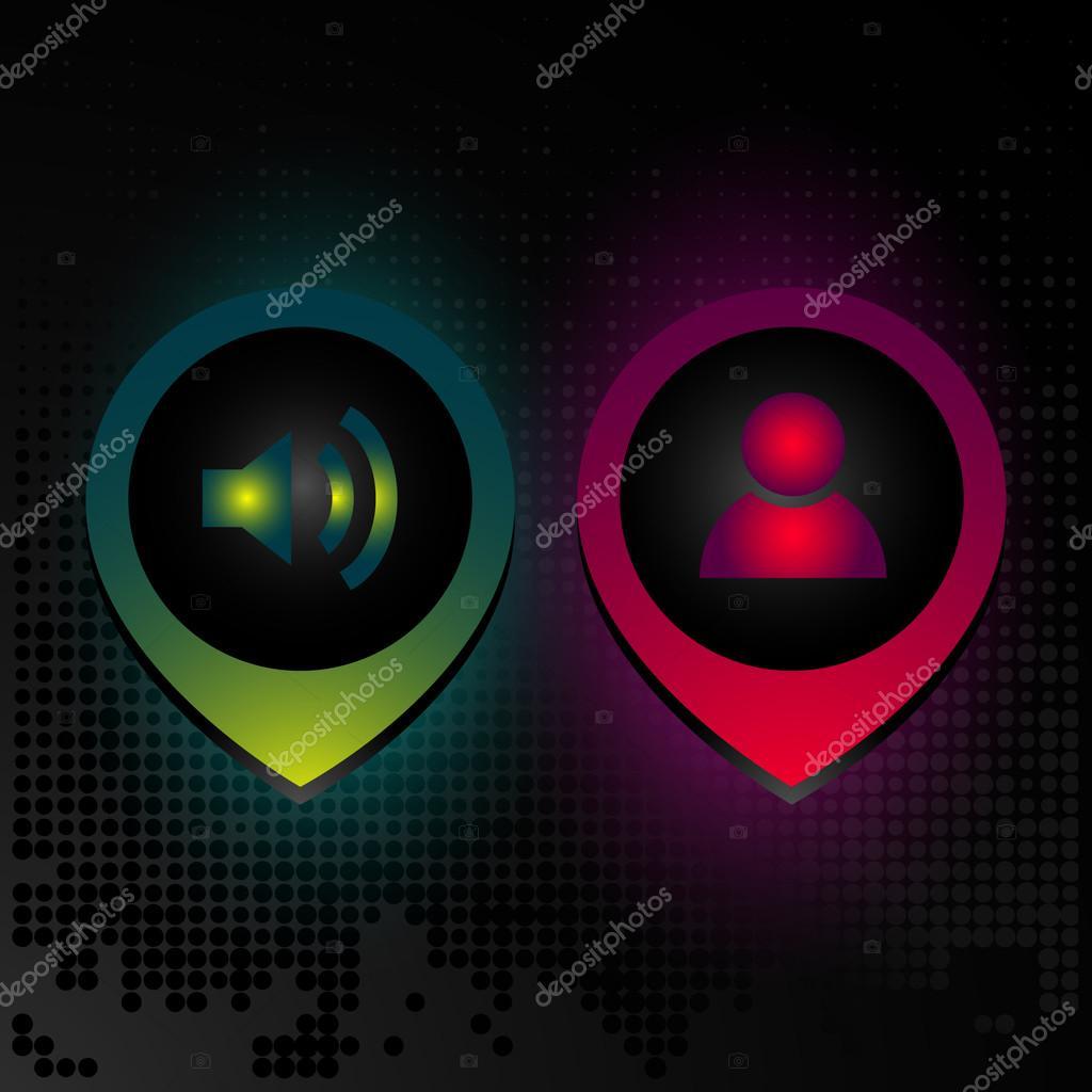icona chat o login — Vettoriali Stock © grafikamalkova@gmail com