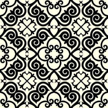 Kazakh national pattern ornament