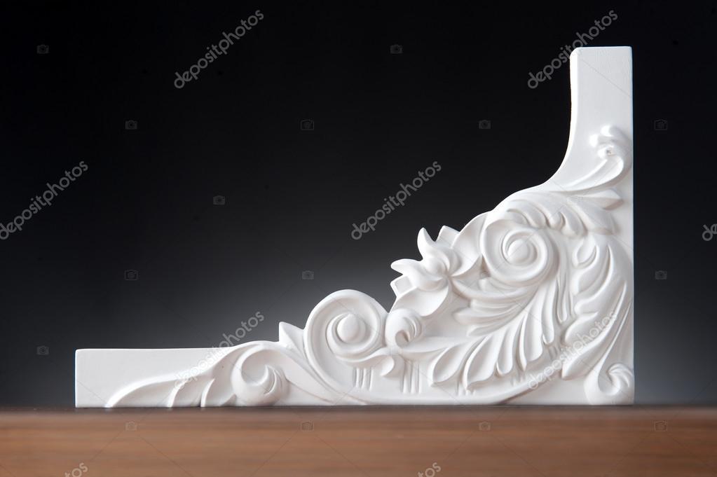 Blancos elementos de decoraci n de interiores fotos de for Elementos de decoracion de interiores