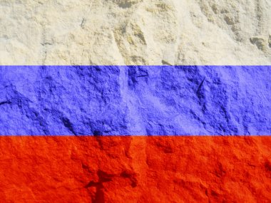 Grunge Russia Flag