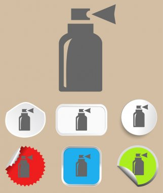 Spray icon - vector illustration. Flat design style