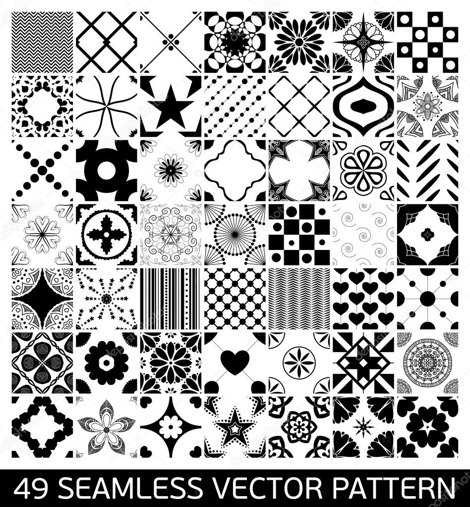 Wallpapers pattern fills web page backgrounds surface textures - Seamless Patterns Background Collection Endless Texture Can Be Used For Wallpaper Pattern Fills Web Page Background Surface Textures